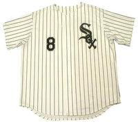 Bo Jackson Chicago White Sox Home Pinstripe Jersey