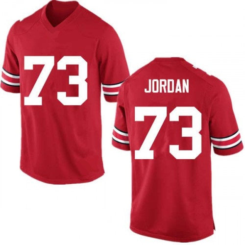 size 40 b79e9 c5eb6 Michael Jordan Ohio State Buckeyes College Football Throwback Jersey