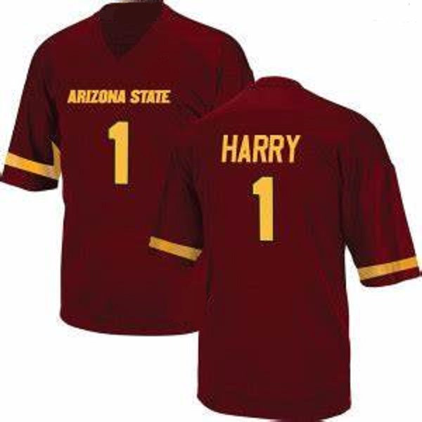 N'Keal Harry Arizona State Sun Devils College Football Throwback Jersey