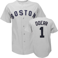 Bobby Doerr Boston Red Sox Throwback Jersey