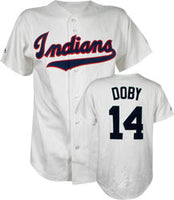 Larry Doby Cleveland Indians Throwback Jersey