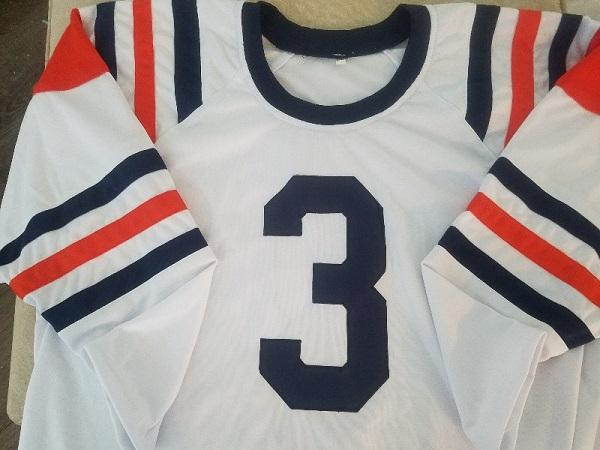 Bronko Nagurski 1936 Chicago Bears Long Sleeve (No Name) Football Jersey (In-Stock-Closeout) Size 2XL/52 Inch Chest