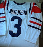 Bronko Nagurski Long Sleeve Chicago Bears Throwback Football Jersey (In-Stock-Closeout) Size XL / 48 Inch Chest