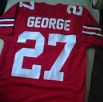 Eddie George Ohio State Buckeyes Football Jersey (In-Stock-Closeout) Size Medium / 40 Inch Chest