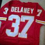 Joe Delaney Kansas City Chiefs Football Jersey (In-Stock-Closeout) Size Medium / 40 Inch Chest