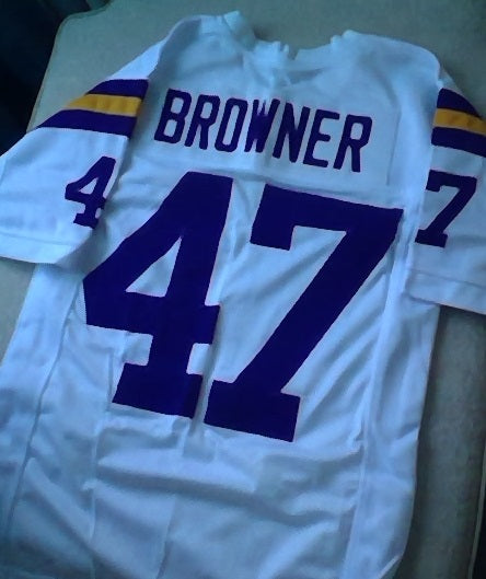 Joey Browner Minnesota Vikings Football Jersey (In-Stock-Closeout) Size Medium / 40 Inch Chest