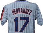Keith Hernandez New York Mets Throwback Home Jersey