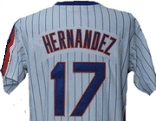 official photos b0260 d082c Keith Hernandez New York Mets Throwback Home Jersey
