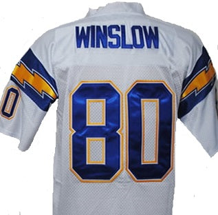 Kellen Winslow San Diego Chargers Football Jersey (In-Stock-Closeout) Size 3XL / 56 Inch Chest