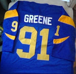 Kevin Greene Los Angeles Rams Football Jersey (In-Stock-Closeout) Size 6XL / 68 Inch Chest