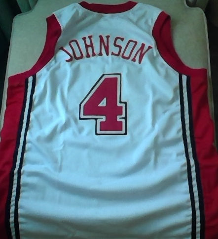 Larry Johnson UNLV Running Rebels Basketball Jersey (In-Stock-Closeout) Size XL / 48 Inch Chest