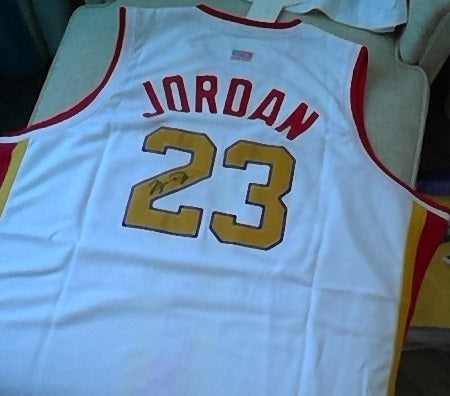 Michael Jordan McDonalds High School Legends Basketball Jersey (In-Stock-Closeout) Size 4XL / 60 Inch Chest