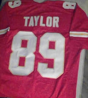 Otis Taylor Kansas City Chiefs Football Jersey (In-Stock-Closeout) Size XL / 48 Inch Chest