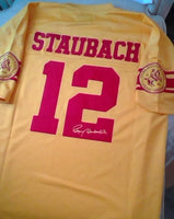 Roger Staubach 1960 Purcell Marion High School Legends Football Jersey (In-Stock-Closeout) Size 48 Inch Chest