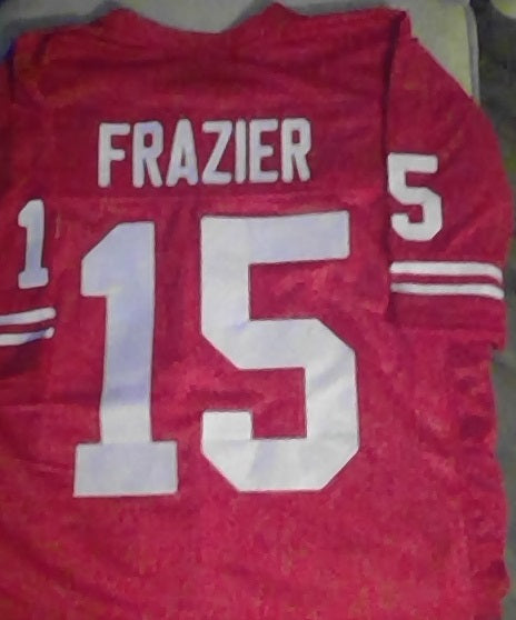 Tommy Frazier Nebraska Cornhuskers Football Jersey (In-Stock-Closeout) Size 2XL / 52 Inch Chest
