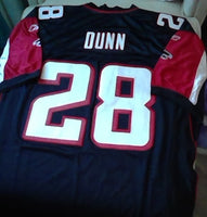 Warrick Dunn Atlanta Falcons Jersey (In-Stock-Closeout) Size 54 Inch Chest