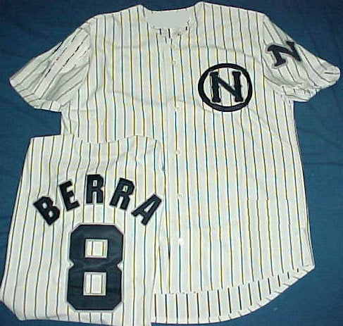Yogi Berra 1946 Newark Bears Throwback Minor League Jersey