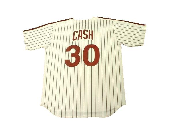 Dave Cash 1976 Phillies Throwback Jersey
