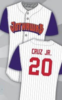 Jose Cruz Jr Lancaster Jethawks Minor League Baseball Jersey