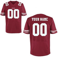 San Francisco 49ers Style Customizable Jersey
