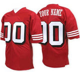 San Francisco 49ers Style Customizable Football Jersey