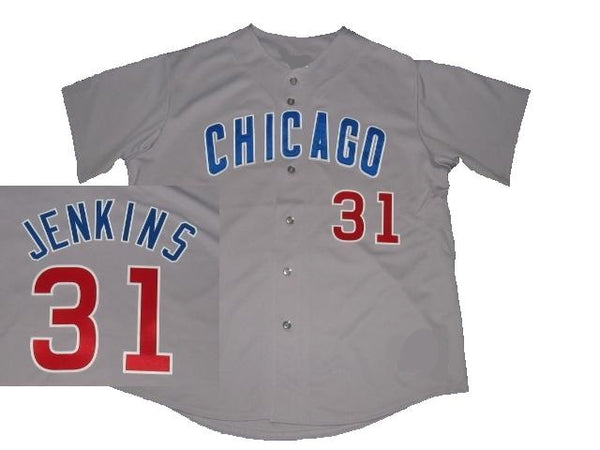 Fergie Jenkins Chicago Cubs Gray Road Jersey