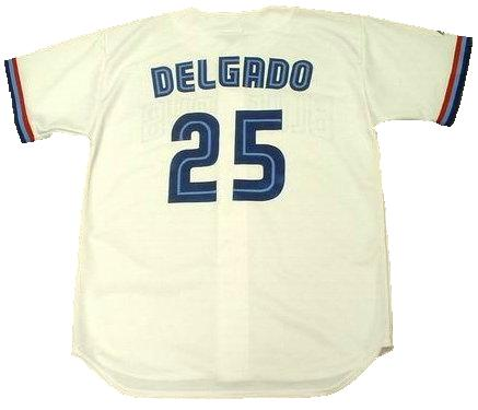 7fa84ccfa Carlos Delgado 2001 Toronto Blue Jays Throwback Jersey – Best Sports ...