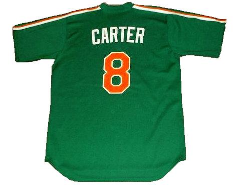 Gary Carter New York Mets St. Patricks Day Throwback Jersey