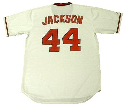 Reggie Jackson 1982 Angels Throwback Jersey