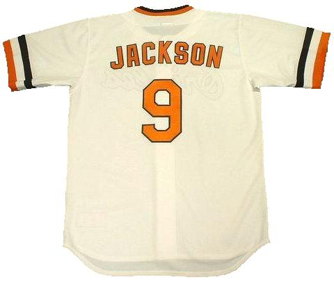 Reggie Jackson Baltimore Orioles Throwback Jersey
