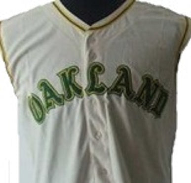 Reggie Jackson Oakland Athletics Throwback Away Jersey