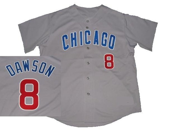 Andre Dawson Chicago Cubs Gray Road Jersey