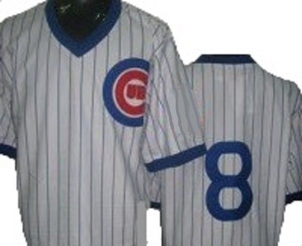 Andre Dawson Chicago Cubs Throwback Home Jersey