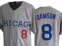 Andre Dawson Chicago Cubs Throwback Road Jersey