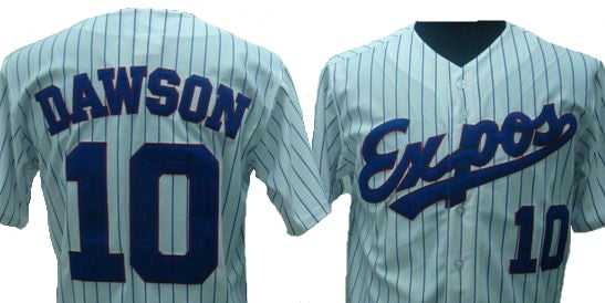 Andre Dawson Montreal Expos Jersey