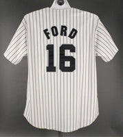 Whitey Ford Binghamton Triplets Minor League Jersey