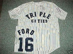 Whitey Ford Binghamton Triple Cities Throwback Minor League Baseball Jersey