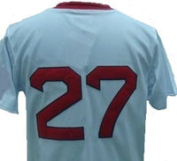 Carlton Fisk Boston Red Sox Vintage Style Jersey
