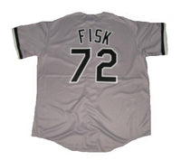 Carlton Fisk Chicago White Sox Road Jersey