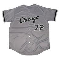 Carlton Fisk White Sox Road Jersey