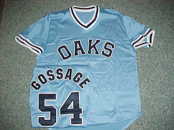 Goose Gossage Iowa Oaks Throwback Minor League Jersey