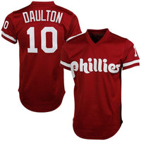 Darren Daulton Philadelphia Phillies Red Jersey