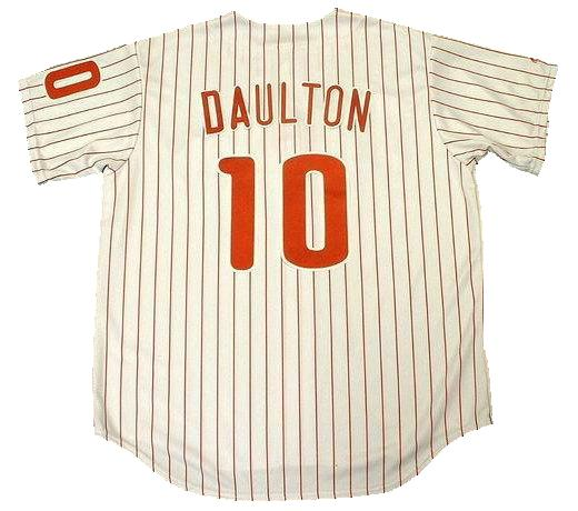 Darren Daulton Philadelphia Phillies Home Jersey