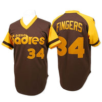 Rollie Fingers 1978 San Diego Padres Throwback Jersey