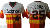 Jose Cruz Houston Astros Throwback Jersey