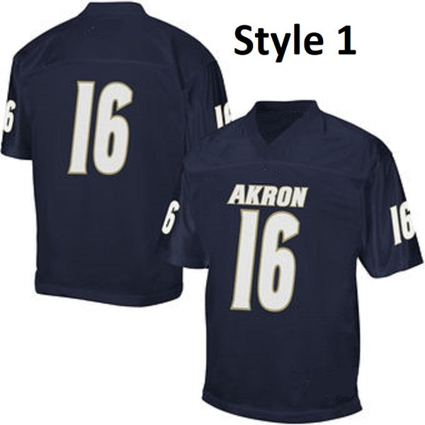 Customizable Akron Zips College Style Football Jersey