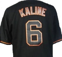 Al Kaline Detroit Tigers Black Throwback Jersey
