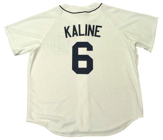 Al Kaline Detroit Tigers Home Throwback Jersey