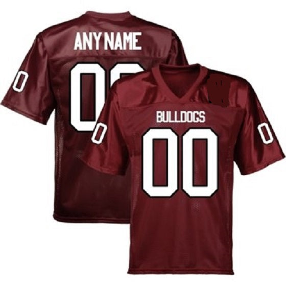 Customizable Alabama A&M Bulldogs College Style Football Jersey