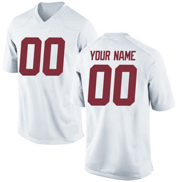 Customizable Alabama Crimson Tide College Style Football Jersey